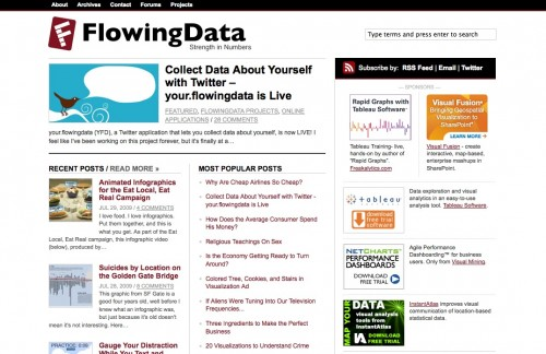 flowing data