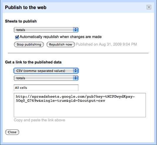 publish-to-web