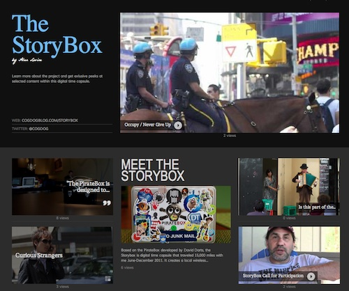 StoryBox on Jux