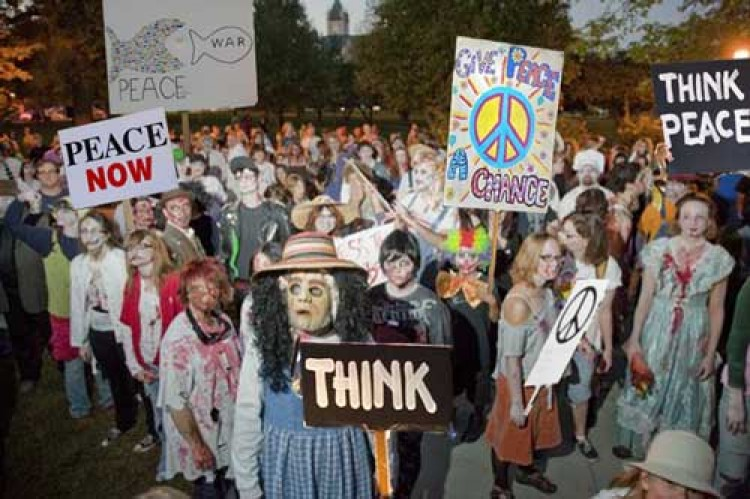 Zombies for Peace (or narrative)