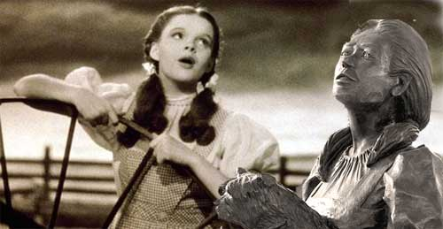 dorothy and her younger self