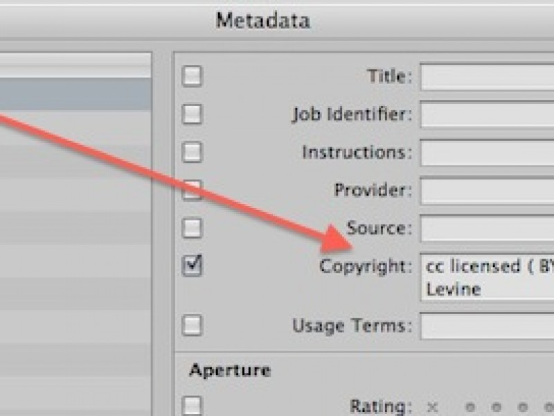 Getting Your Own Meta Data in Your Own Photos