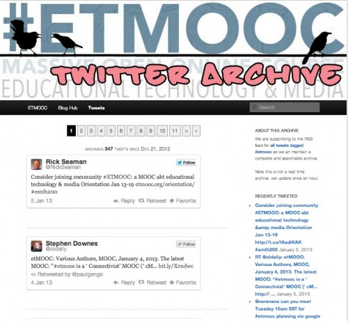etmooc tweets themed