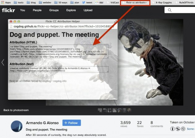 flickr-cc-helper-in-action