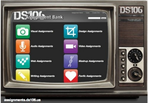 ds106 show assignments