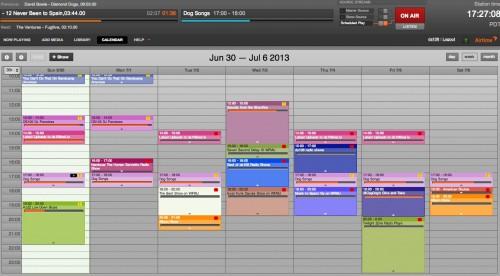 airtime calendar