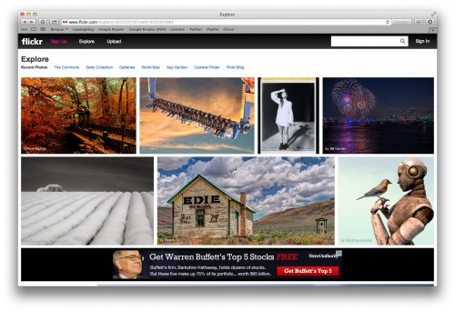flickr ads