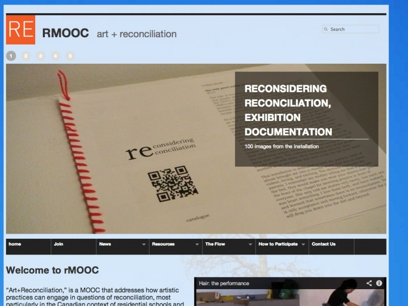 Building the RMOOC Site, Syndication and All