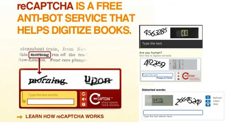 Apparently reCAPTCHA has Digitized All the Books