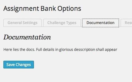 options - docs
