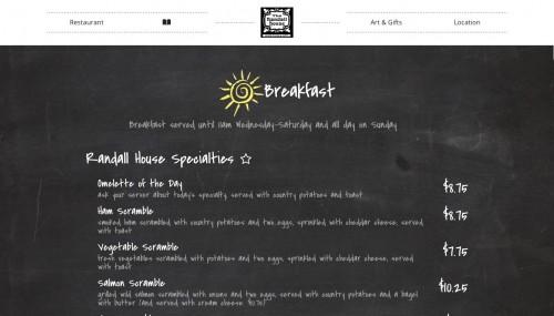 th menu