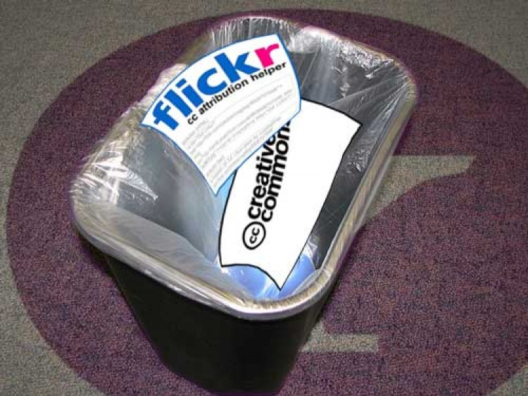 New Flickr Trashes Creative Commons Attribution Helper