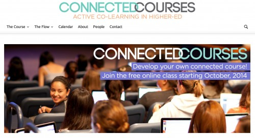 Connected Courses site
