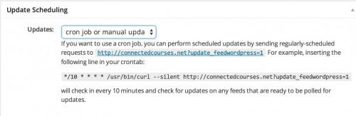 update-scheduling