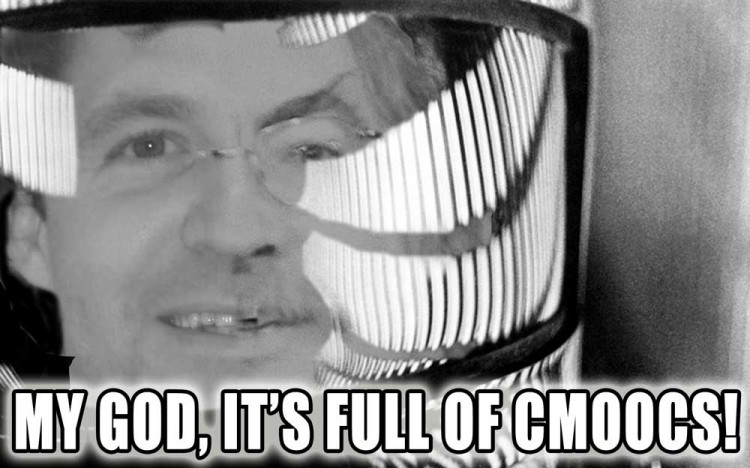 My God– It's Full of CMOOCs!