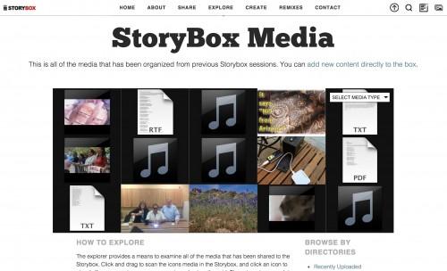 story box e