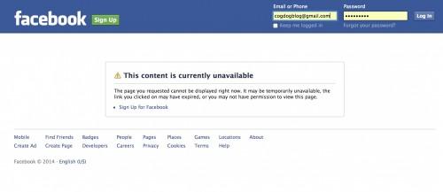 facebook no look