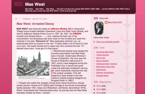 maewest blog