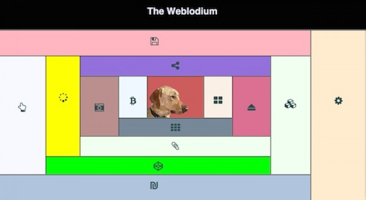 Playing in ~ With The Weblodium
