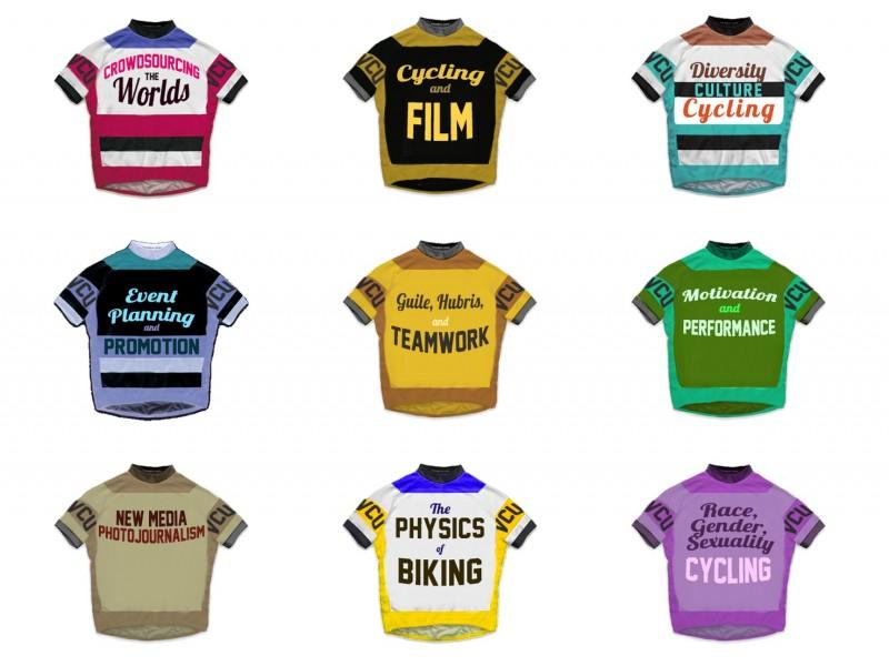Course Race Jerseys: The Great VCU Bike Race