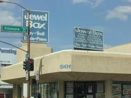 The Old Jewel Box pawn shop, no longer exists