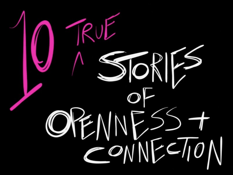 Amy Burvall Delivers not one but TEN (count 'em) Stories of Connection