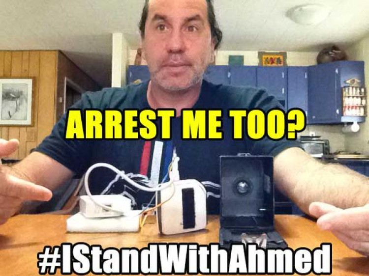 #ITinkerLikeAhmed #IStandWithAhmed #IWontGetArrestedLikeAhmed