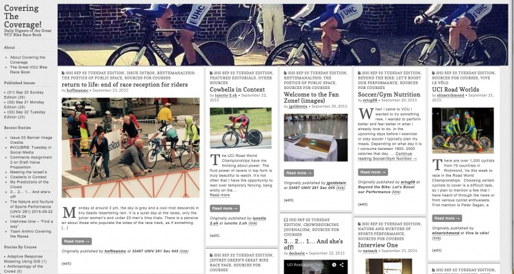 [Covering of] Covering the Coverage: Syndication Fed WordPress Powered Magazine