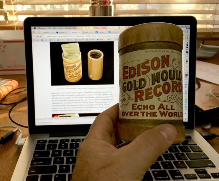Waxing Over Cylinders: The Internet Wonder Box