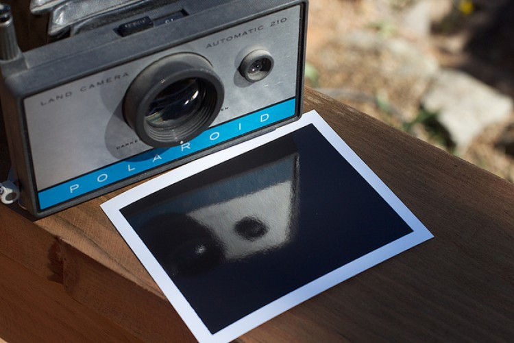 On Waiting For Polaroid Images