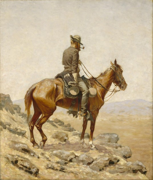 The Lookout- by Frederic Remington, public domain image from Wikimedia Commons