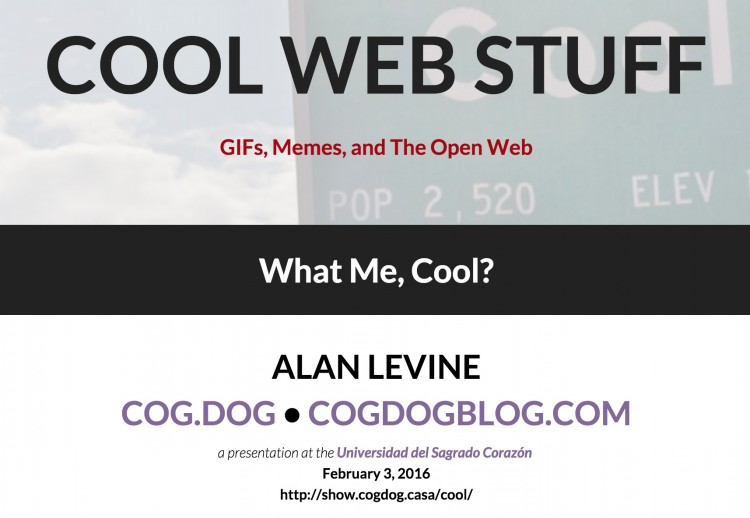 Bringing the Cool Web Stuff to Puerto Rico