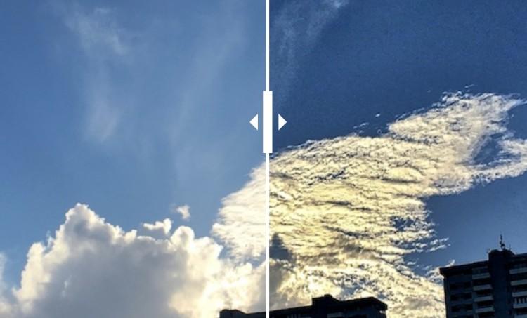 Juxtaposing The Cloud View
