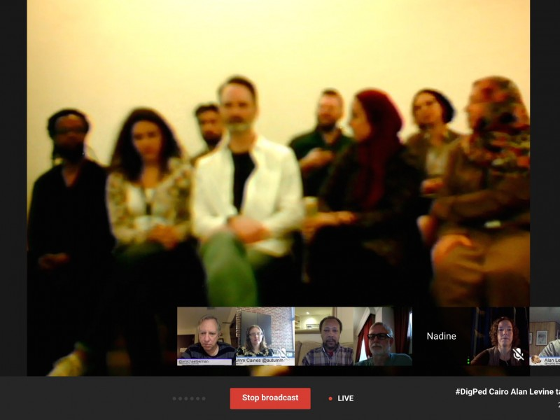 """VConnecting Today to #DigPed Cairo: """"Fermenting Ideas in the Middle Yeast"""""""