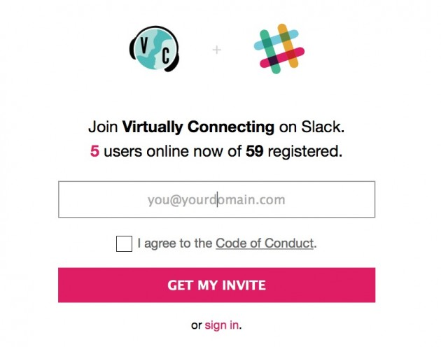 A test slackin for Virtual Connecting