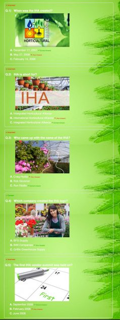 Details of my IHA certification quiz (click to see the challenges I faced)