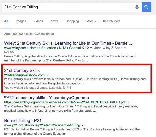 trilling search