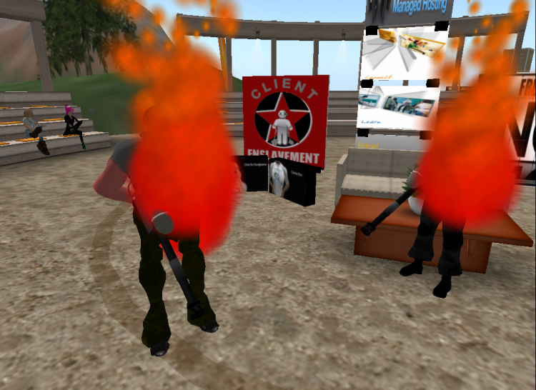 You Can't Keep a Second Life Zombie Video Down