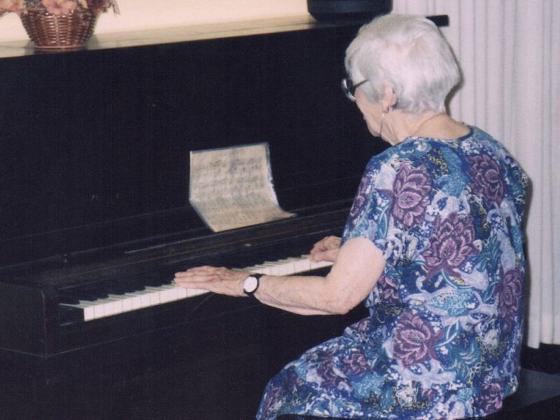 Maybe 100 Years Ago My Grandmother Learned to Play Piano