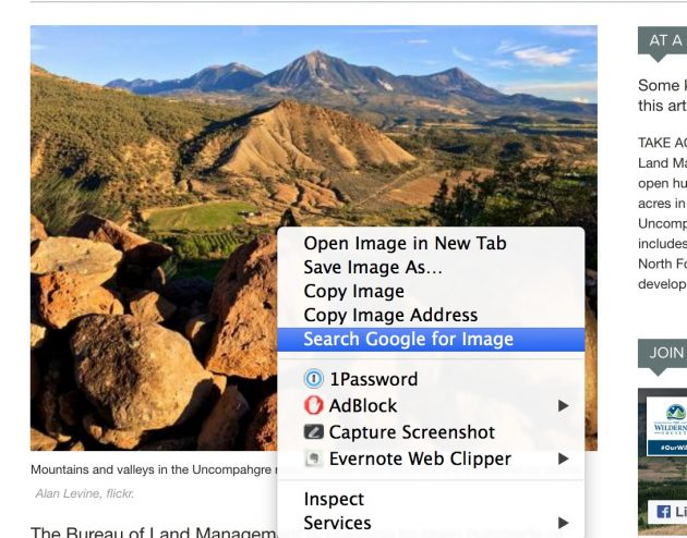 Get the Chrome Image search extension, it makes revers image searches a direct action