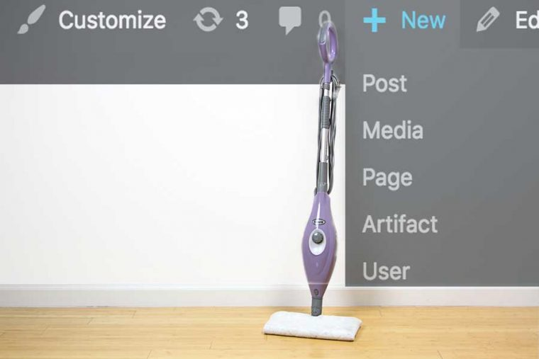 Cleaning Up The Wordpress Adminbar New Menu Cogdogblog