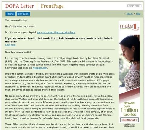 Dopa-Letter