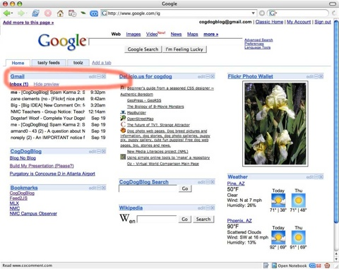 Google-Tabs