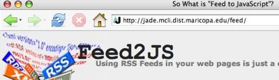 Feed2Js-Url